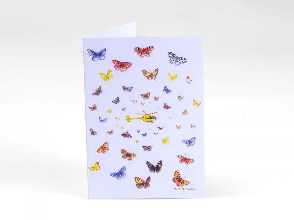 YAA Butterflies Notelet