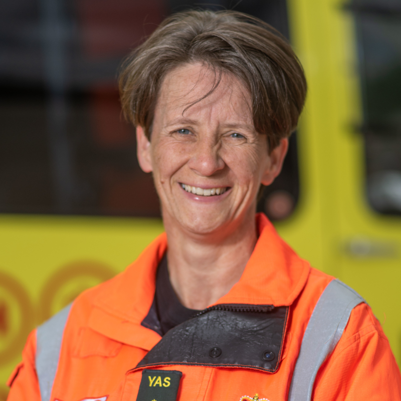Image of HEMS Paramedic Sammy Willis