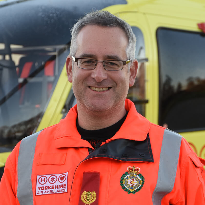 Dr Tim Moll - Yorkshire Air Ambulance - Team Member