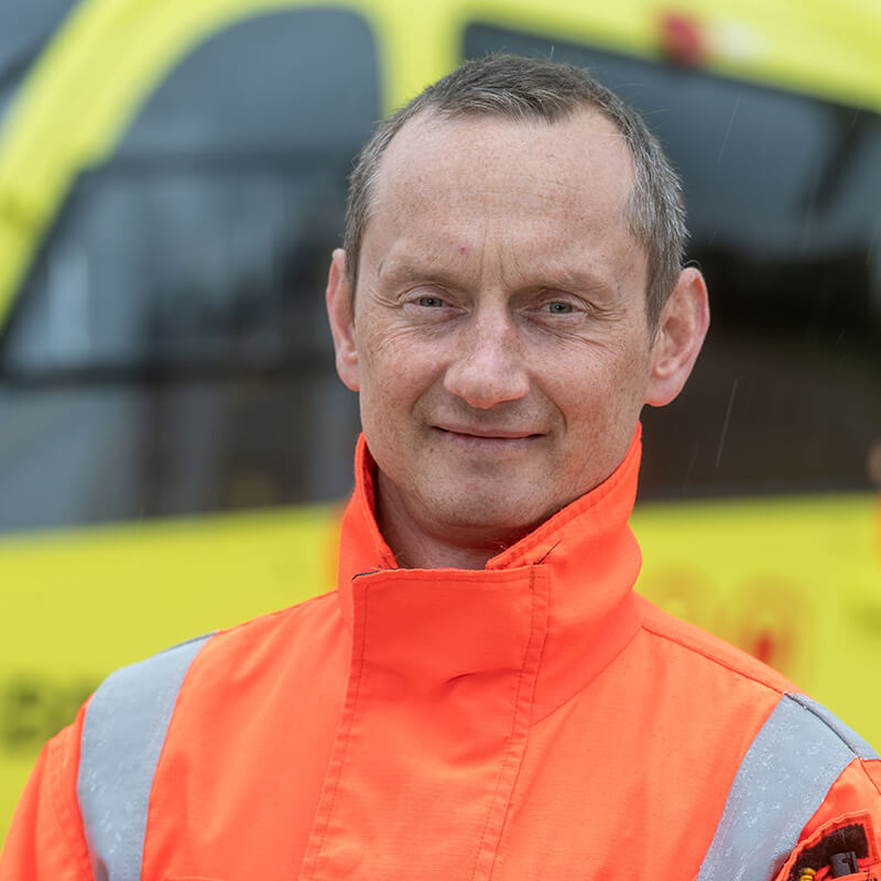 Andrew Armitage - Yorkshire Air Ambulance - Team Member