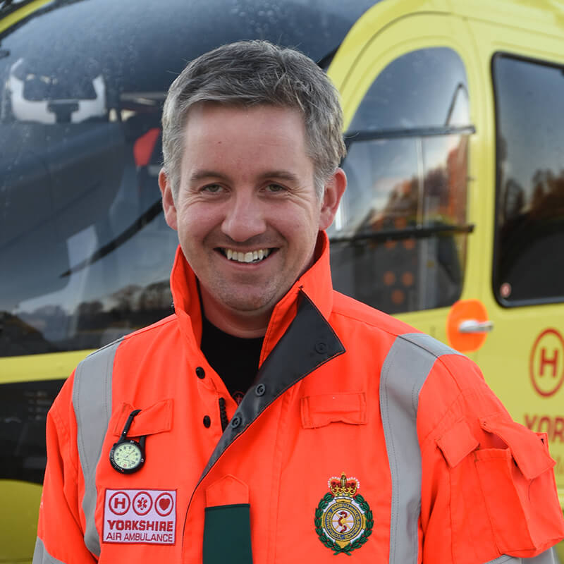 Dr Brian White - Yorkshire Air Ambulance - Team Member