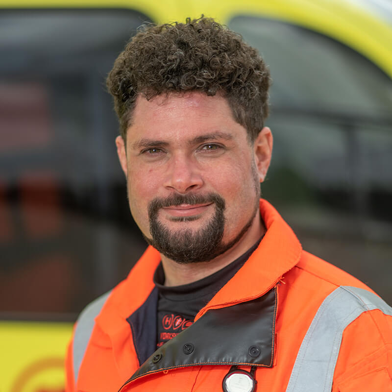 Dr Chris Srinivasan - Yorkshire Air Ambulance - Team Member