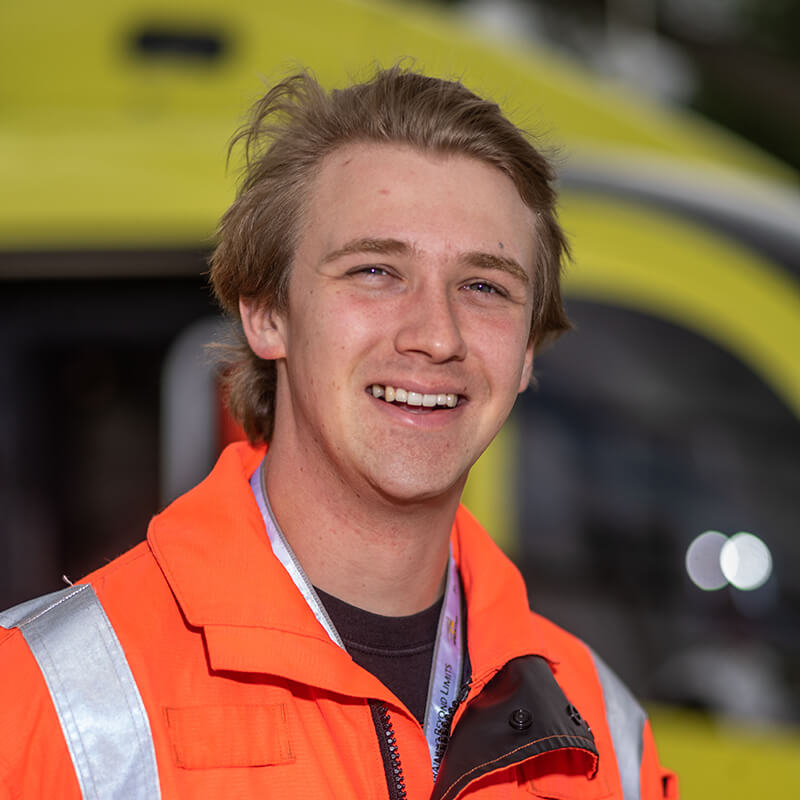 Kit von Michwitz - Yorkshire Air Ambulance - Team Member - Paramedic