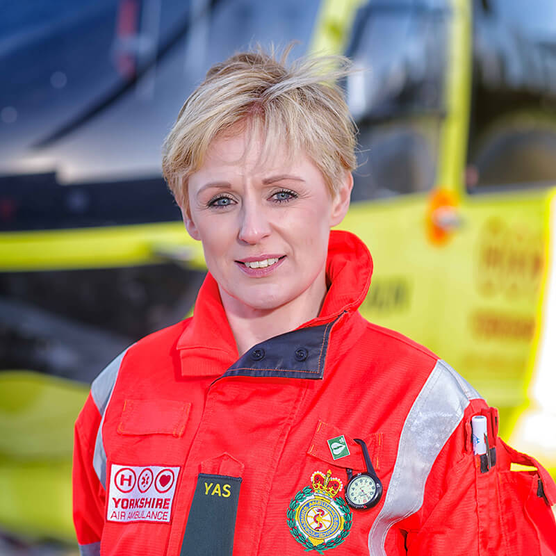 Lisa Dempster - Yorkshire Air Ambulance - Team Member
