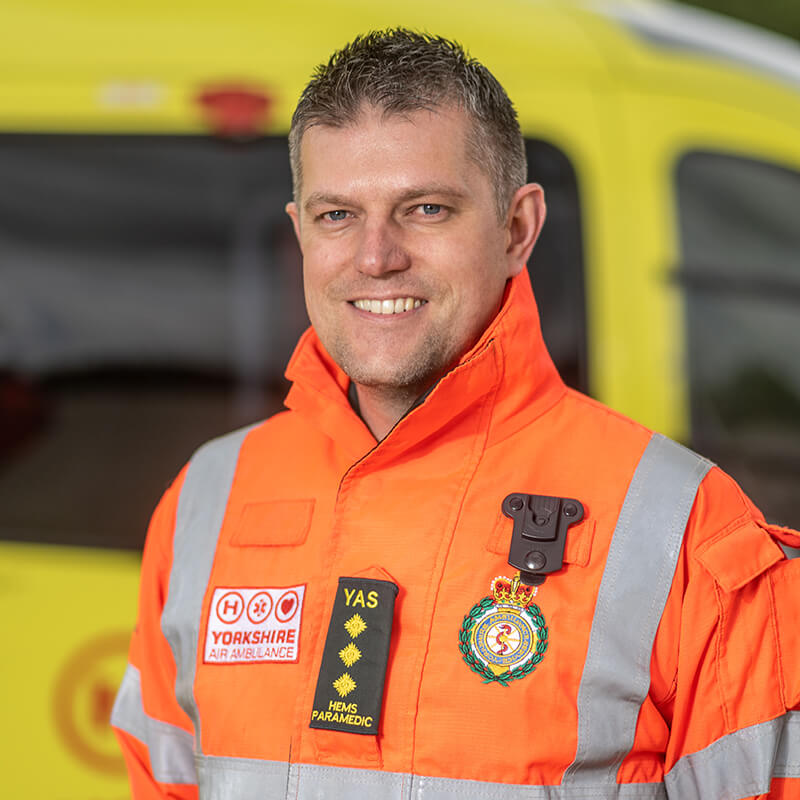 Matt Syrate - Yorkshire Air Ambulance - Team Member