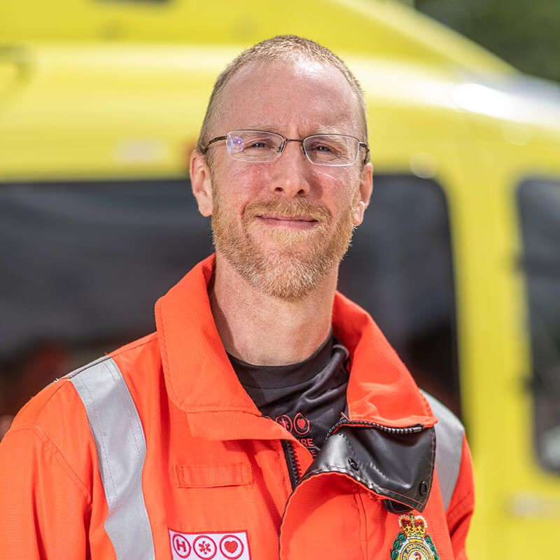 Dr Neil Sambridge - Yorkshire Air Ambulance - Team Member