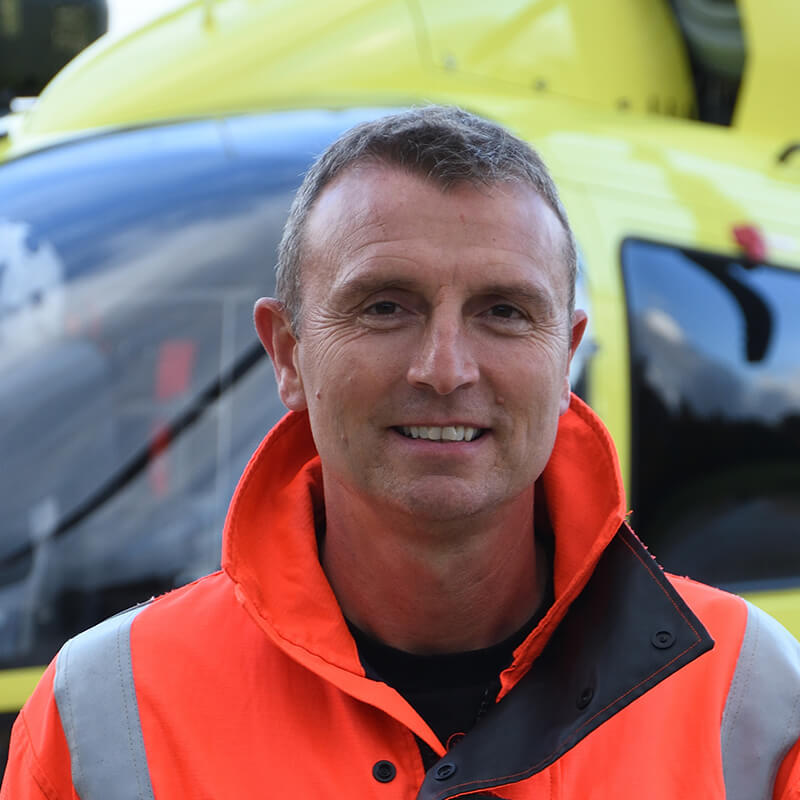 Pete Vallance - Yorkshire Air Ambulance - Team Member