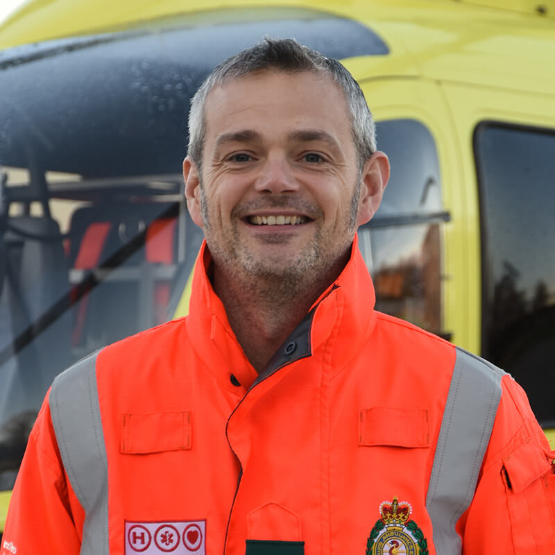 Dr Rob Anderson - Yorkshire Air Ambulance - Team Member