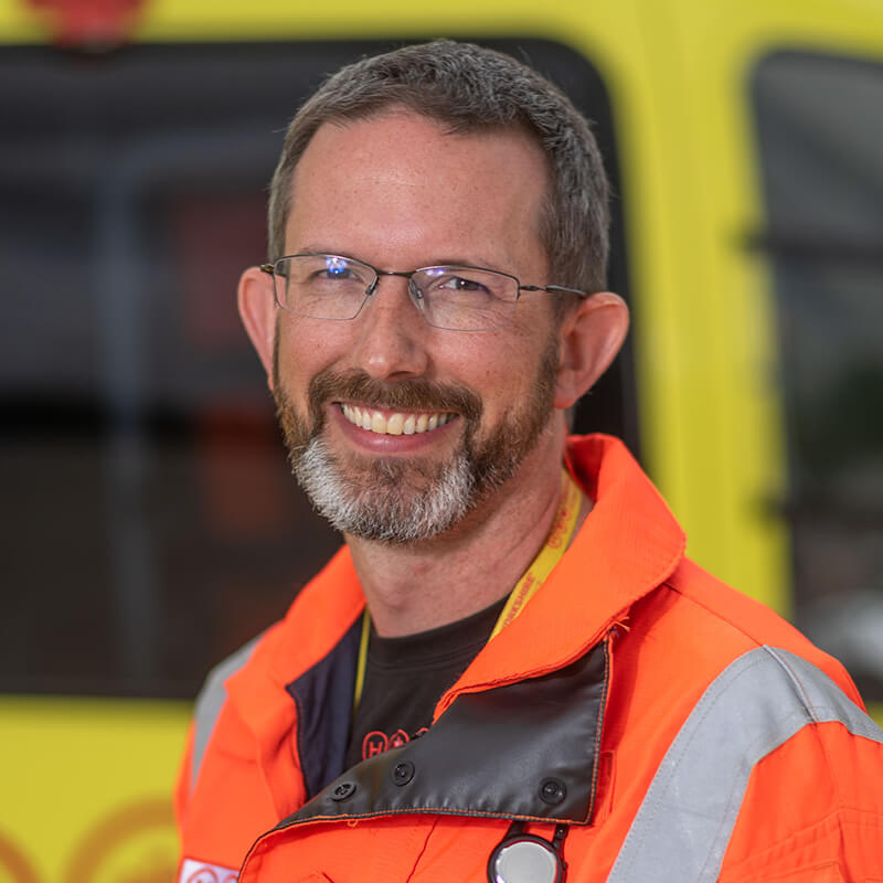 Dr Steve Rowe - Yorkshire Air Ambulance - Team Member