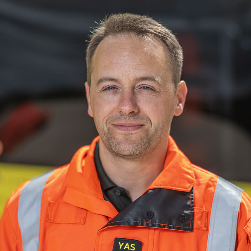 Tyrone Thornton - Yorkshire Air Ambulance - Team Member