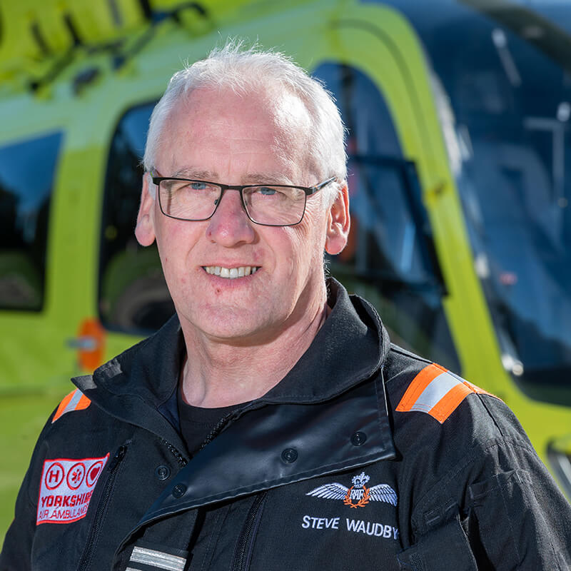 Steve Waudby - Yorkshire Air Ambulance - Team Member