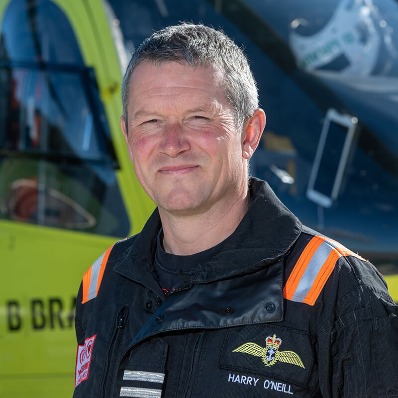 Cpt Harry O'Neill - Yorkshire Air Ambulance - Team Member