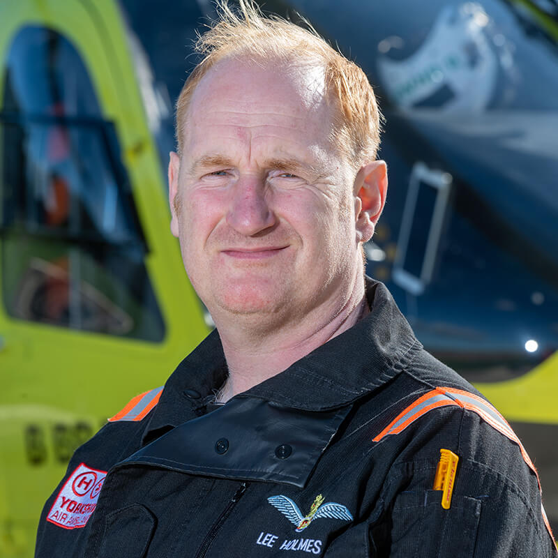 Lee Holmes - Yorkshire Air Ambulance - Team Member