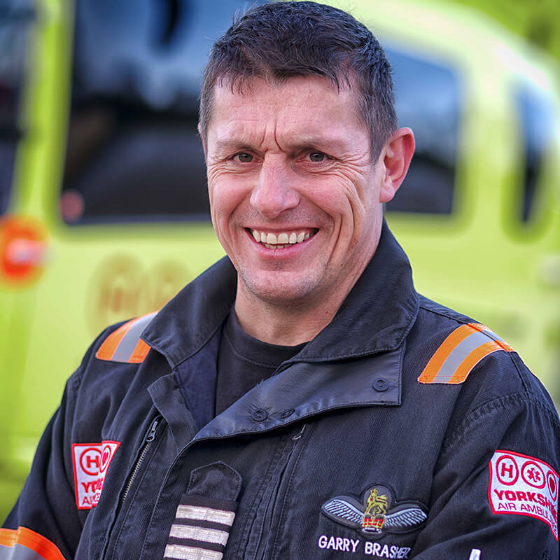 Garry Brasher - Yorkshire Air Ambulance - Team Member