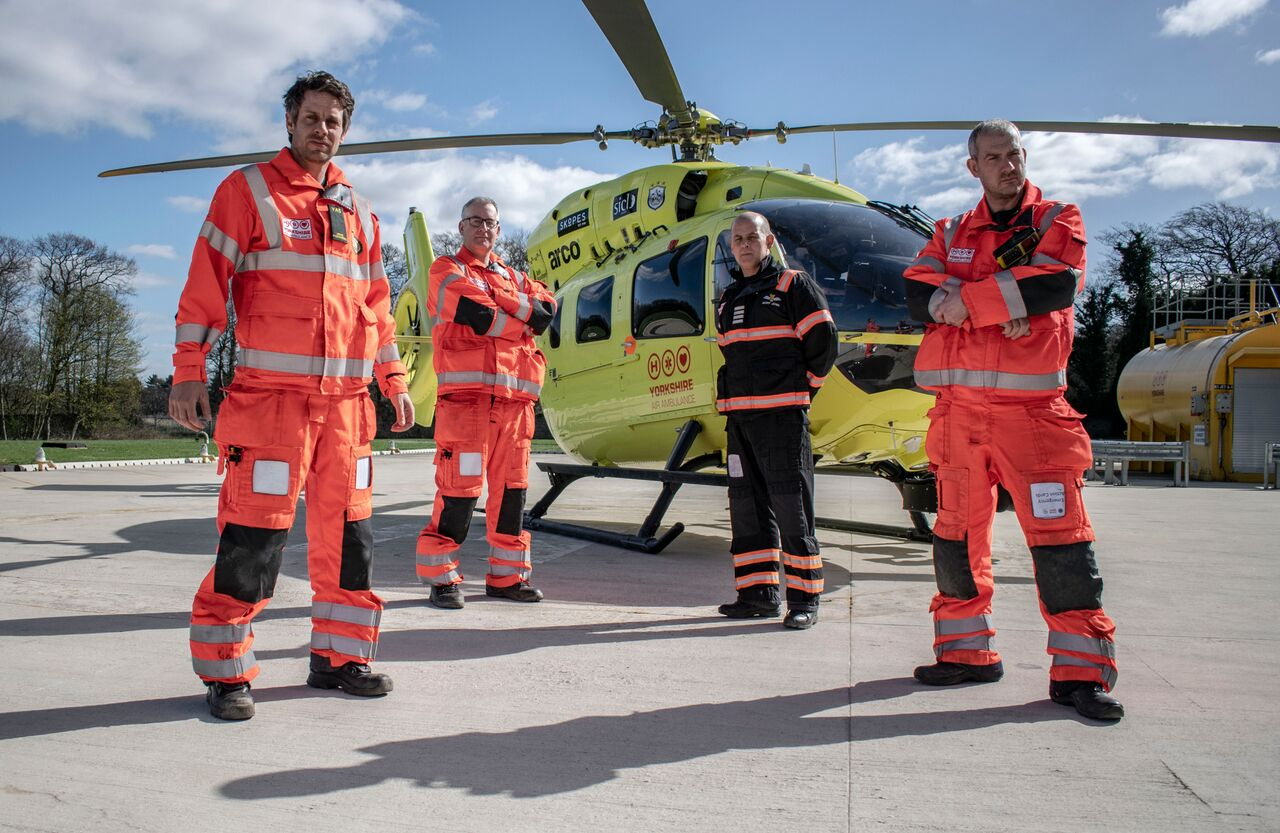 Yorkshire Air Ambulance urge people across Yorkshire to download app which can help save lives