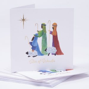 YAA Bright Shepherd Christmas Card
