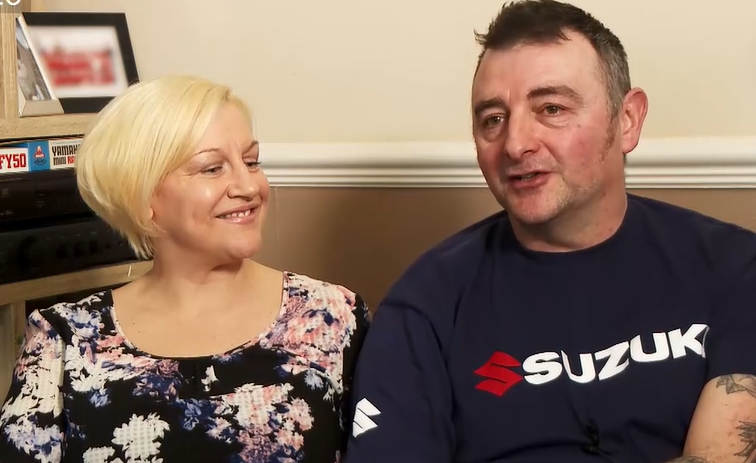 Image of former patient: Clare and Ian Werret