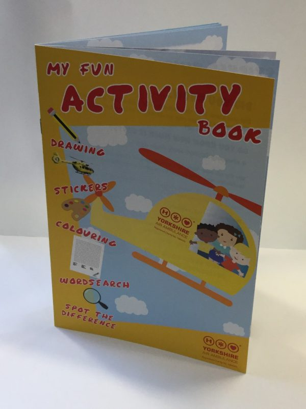 YAA Kids Activity Book.