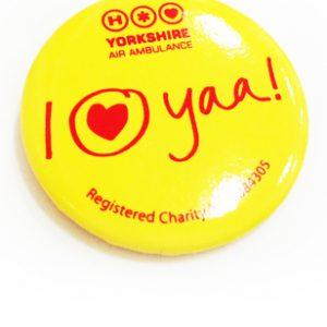 YAA Button Badge