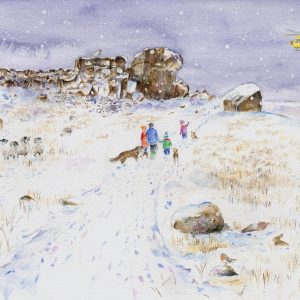 Ilkley Moor illustration for YAA