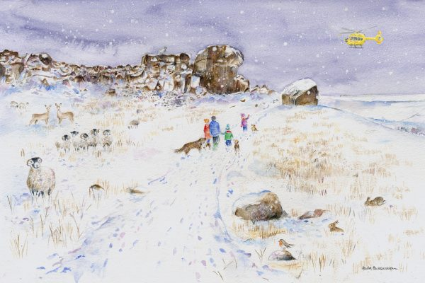 On Ilkley Moor illustration for YAA