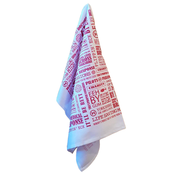 Image of Yorkshire Air Ambulance Tea Towel