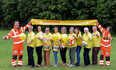 Yorkshire Air Ambulance Volunteers