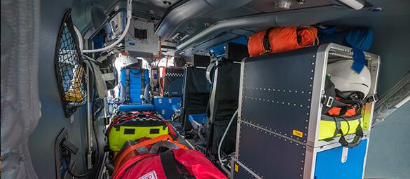 Yorkshire Air Ambulance internal image