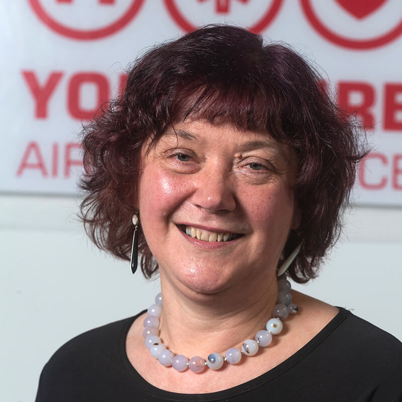 Irene Heap - Yorkshire Air Ambulance - Team Member