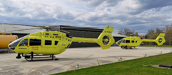 Yorkshire Air Ambulance Helicopters