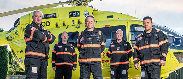 Yorkshire Air Ambulance Pilots & Paramedics
