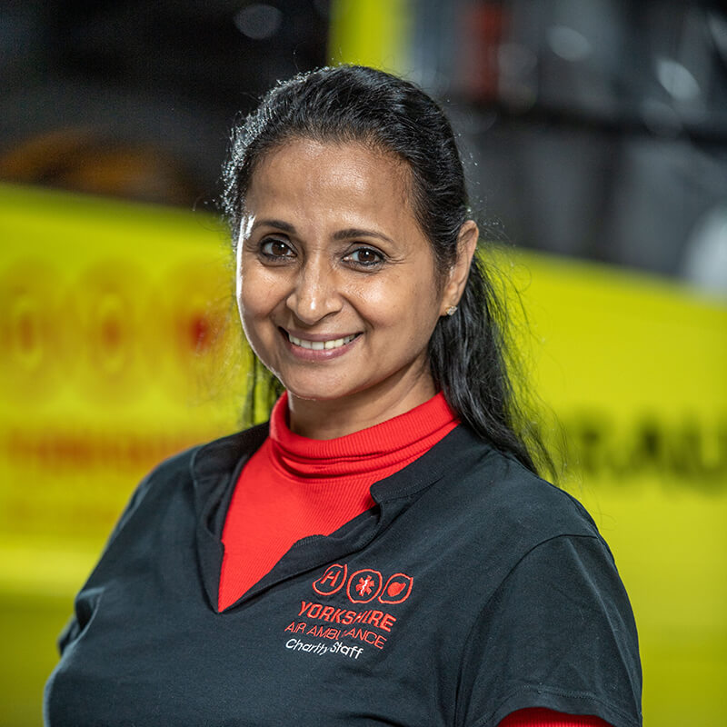 Angela Vyas - Yorkshire Air Ambulance - Team Member