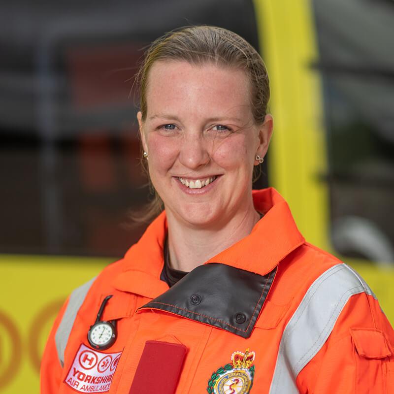 Dr Becky Isles - Yorkshire Air Ambulance - Team Member