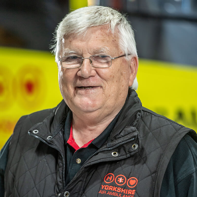Bob Smailes - Yorkshire Air Ambulance - Team Member