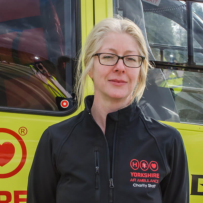 Caroline Myers - Yorkshire Air Ambulance - Team Member