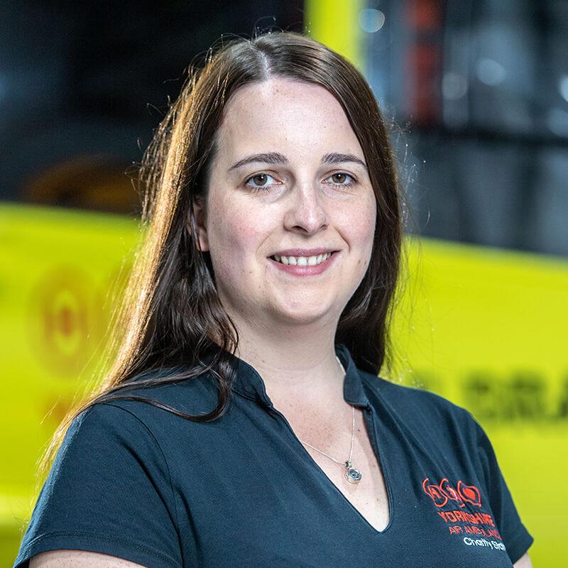 Charlie Reeder - Yorkshire Air Ambulance - Team Member