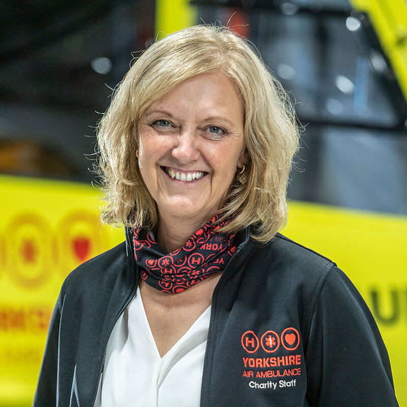 Helen Callear - Yorkshire Air Ambulance - Team Member for Fundraising