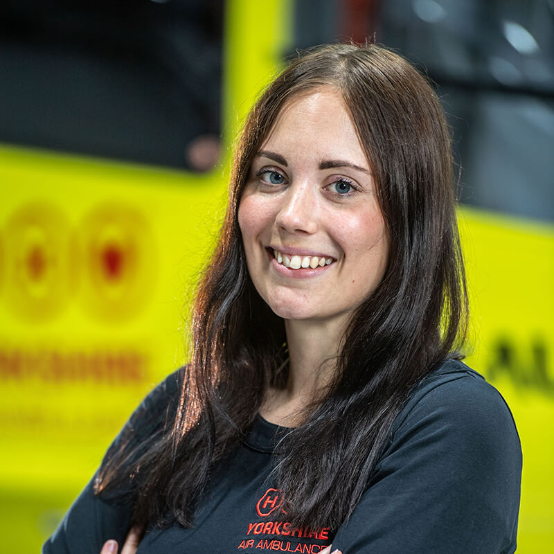 Jessica McDonnell - Yorkshire Air Ambulance - Team Member