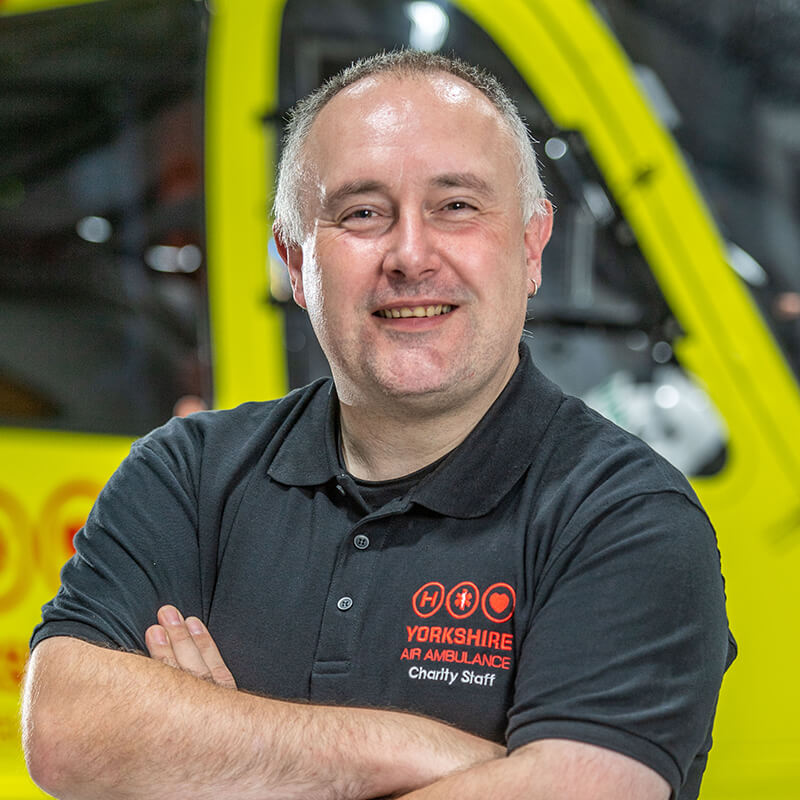 Kevin Hutchinson - Yorkshire Air Ambulance - Team Member