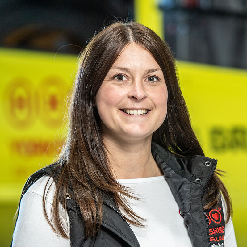 Laura Lawton - Yorkshire Air Ambulance - Team Member