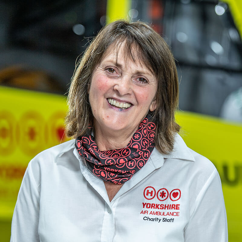 Lin Stead - Yorkshire Air Ambulance - Team Member