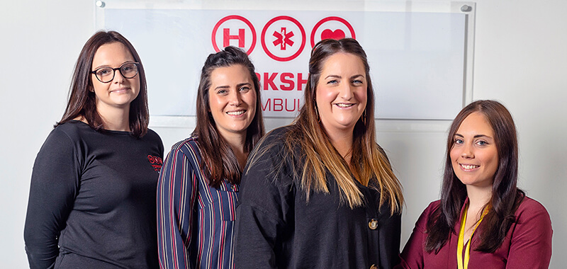 Marketing Team for Yorkshire Air Ambulance