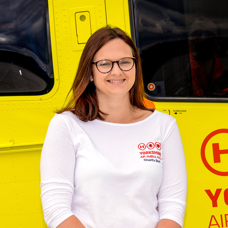 Rebecca Martin - Yorkshire Air Ambulance - Team Member