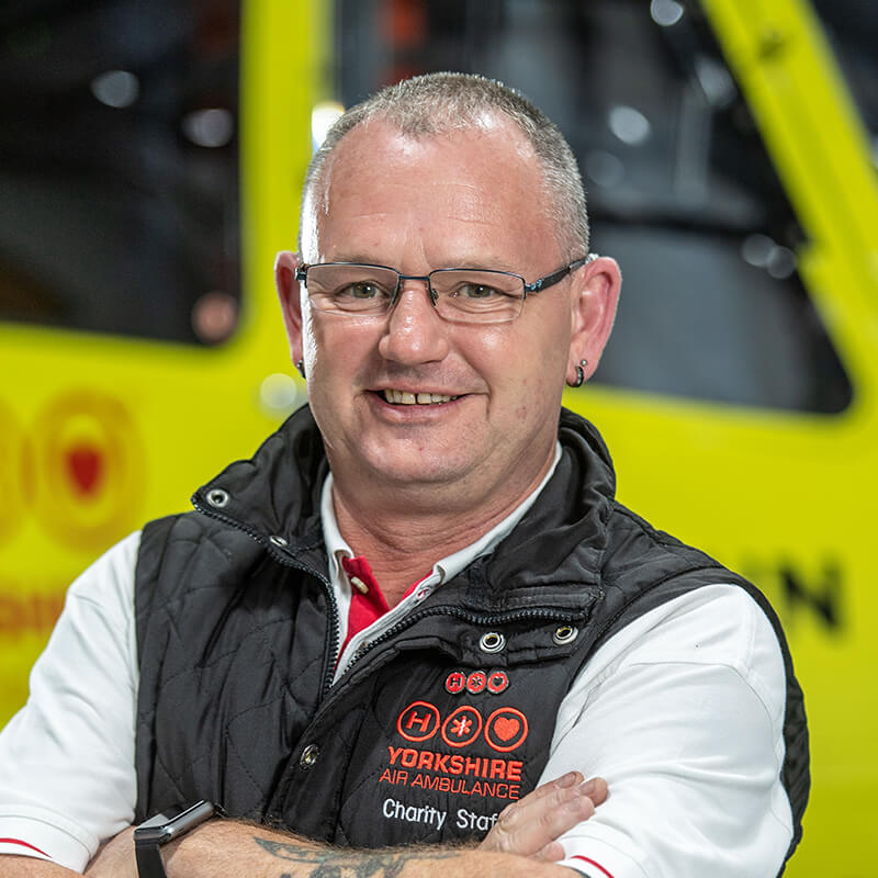 Rob Scott - Yorkshire Air Ambulance - Team Member