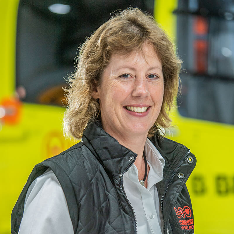 Tessa Klemz - Yorkshire Air Ambulance - Team Member