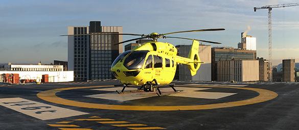 Helicopter & Helipad