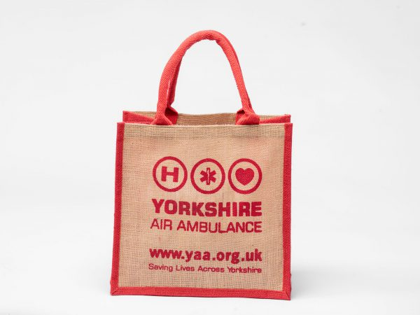 YAA Hessian shopping Bag
