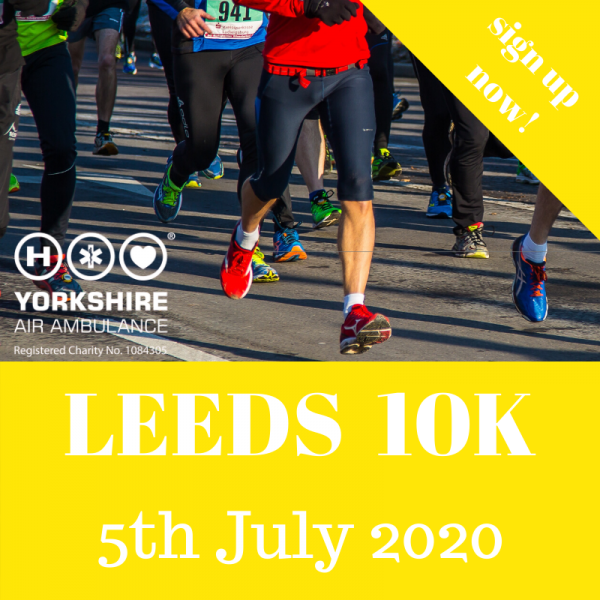 Run For All Leeds flyer