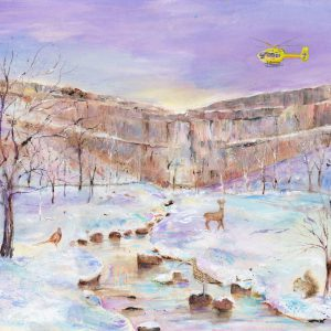 Malham Cove Christmas Card