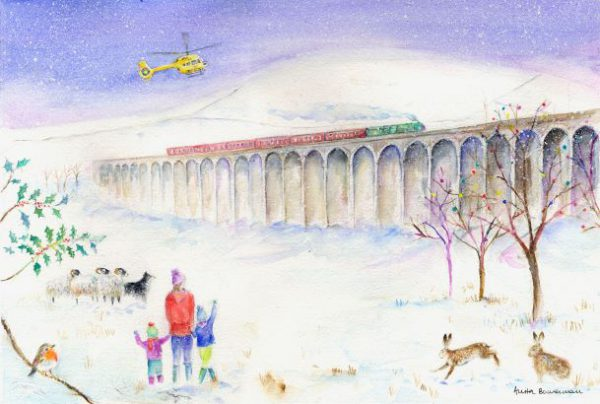 Ribblehead Viaduct Christmas Card 2019